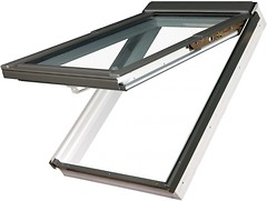 Мансардное окно Fakro PPP-V 940х1180 1 ств. (накл.-вращ.) 1-кам.