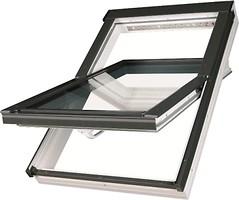 Мансардное окно Fakro PTP-V U3 1140х1180 1 ств. (цент. ось) 1-кам.