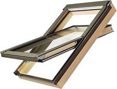 Мансардное окно Fakro PTP-V/PI U3 780х1400 1 ств. (цент. ось) 1-кам.
