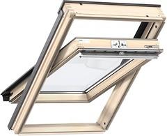 Фото Мансардное окно деревянное Velux GZL 1051 1140х1180 1-ств. (цент. ось) 1-кам.