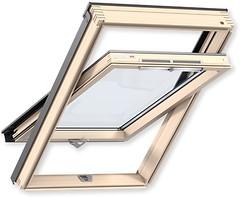 Мансардное окно деревянное Velux GZR 780х1180 1-ств. (цент. ось) 1-кам.