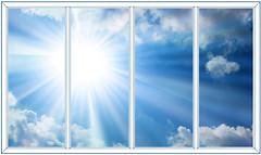 Фото Балконная рама (остекленная) VEKA 3000х1400 4-ств. (2 пов.-отк.) 1-кам.