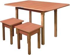 Макси-Мебель Кухонный раздвижной с деревянными ножками