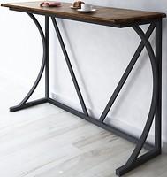 Instigo Стол барный из натурального массива ясеня на металлическом каркасе (T1056)