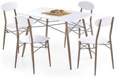 Halmar Record прямоугольный + 4 стула