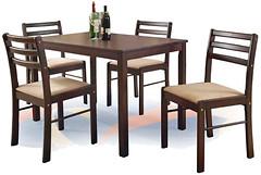 Halmar New Starter + 4 стула
