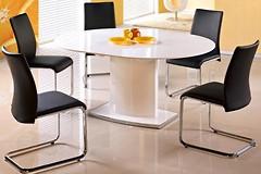 Фото Halmar Стол Federico + 4 стула Emilio