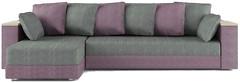 Фото Matroluxe Комплект Гранд диван угловой+кресло+пуф