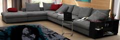 Фото КИМ-мебель Royal угловой (без механизма)