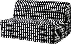 Фото IKEA ЛИКСЕЛЕ ЛЁВОС Диван-кровать 2-местный 391.498.92
