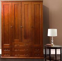Фото Елисеевская мебель Шкаф 4-х дверный