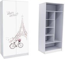 Mebelkon Париж шкаф комбинированный 211x100x50