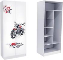 Mebelkon Гонщик шкаф комбинированный 211x100x50