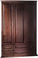 Фото Елисеевская мебель Шкаф 3-х дверный с ящиками