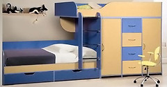 Фото Merabel Двухъярусная кровать (а8)