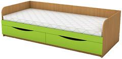 Фото ANT-mebel Кровать одноместная с ящиками КДО-001Я 60x140