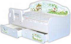Mebelkon Кроватка-диванчик Нежность 80x160