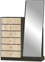 Мебель-сервис Фантазия 6Ш с зеркалом