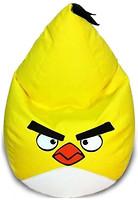 Фото Bel.i.v Кресло-мешок Злая птица желтая