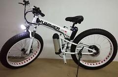 Фото Electro Hummer Electrobike Foldable 750 26