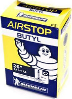 Фото Michelin Airstop Butyl C2 26x1-1.25 (25/35x559) Presta 40mm