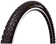 Фото Continental Traffic II 2.1 Black 26x2.1 (100207C)