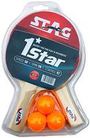 Фото Stag Набор 1 Star Play Set (2 ракетки, 3 мяча)