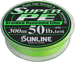 Фото Sunline Super PE green (0.47mm 150m 36.32kg) 16580171