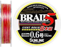 Фото Sunline Super Braid 5 (8 Braid) (0.128mm 200m 4kg) 16580859