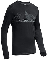 Icebreaker Oasis Long Sleeve Crewe Winter Alps Men 200 футболка рукав