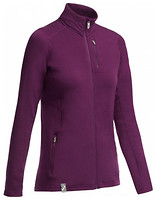 Icebreaker Cascade Long Sleeve Zip Women 200 кофта