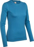 Icebreaker Oasis Long Sleeve Crewe Stripe Women 200 футболка рукав