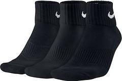 Nike Cotton Cushioned Quarter Crew Socks Womens