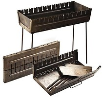 Stenson Мангал-чемодан на 12 шампуров (УК-М12)