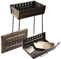 Stenson Мангал-чемодан на 8 шампуров (УК-М8)