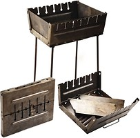 Stenson Мангал-чемодан на 6 шампуров (УК-М6)