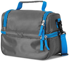 Фото Spokey Lunch Box grey/blue (921872)