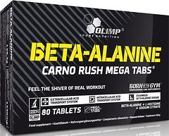 Фото Olimp Beta-Alanine Carno Rush Mega 80 таблеток