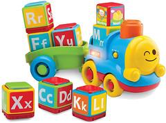 Фото Baby Baby Музыкальная игрушка Паровозик-алфавит (8256/04357)