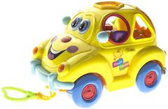 Joy Toy Машинка-сортер Автошка с фруктами (9170, 100546)