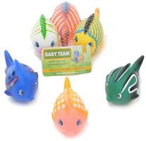 Фото Baby Team Набор игрушек для ванны Разноцветные рыбки (9006)