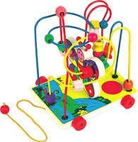Фото Мир деревянных игрушек Лабиринт-каталка Бабочка малая (Д116)