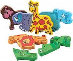 Фото Мир деревянных игрушек Набор Магнитные фигуры
