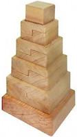 Фото Руди Пирамида Квадрат не крашенная (Д007бу)