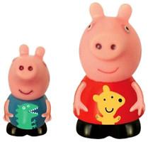Фото Peppa Pig Игрушка-брызгунчик Пеппа и Джордж (27132)