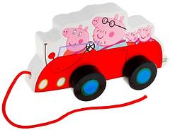 Фото Peppa Pig Каталка Семья Пеппы в машине (24442)