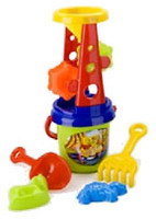Toys Plast Песочный набор Мельница (ИП 21 001)