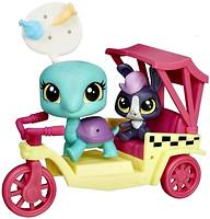 Hasbro Littlest Pet Shop City Rides Такси (B3807_B5044)