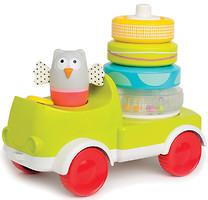 Taf Toys Машинка с пирамидкой Совушка-малышка (11945)