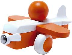 Фото Hape Маленький самолетик оранжевый (E0065)